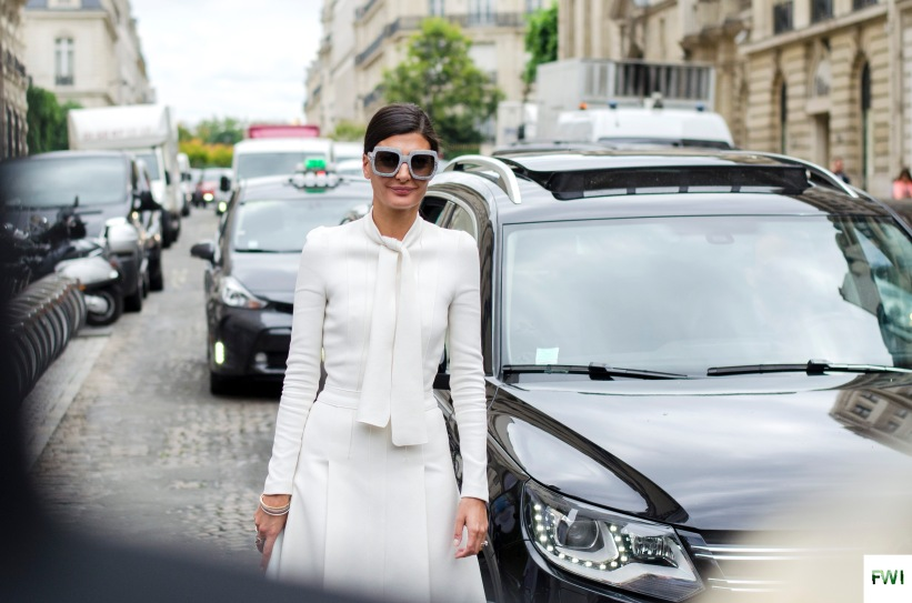 Giovanna Engelbert before Dior