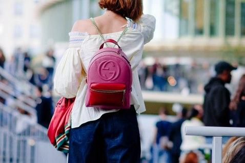 Before Koché. Gucci backpack.