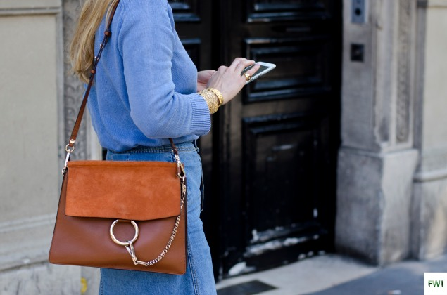 Chloé bag, Paris Haute Couture FW16