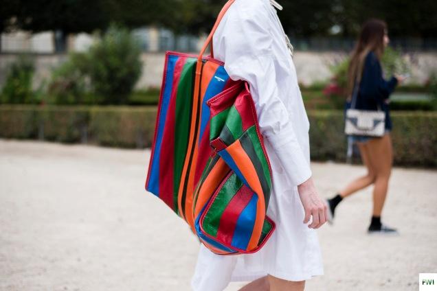 Balenciaga bag, after Carven
