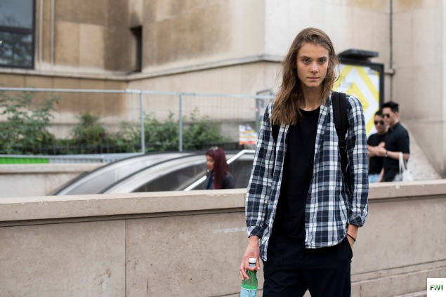 Model off duty After Ann Demeulemeester