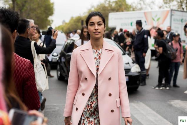 Caroline Issa after Dior
