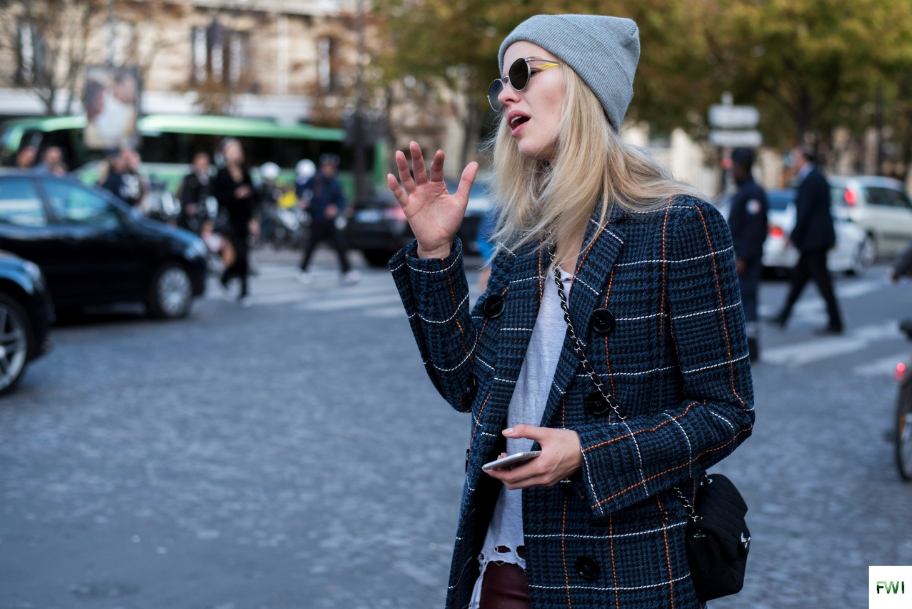 Model off duty after Haider Ackermann