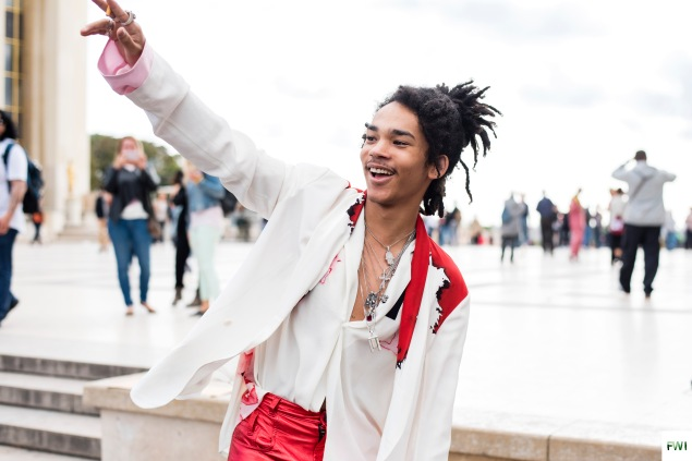Luka Sabbat after Haider Ackermann