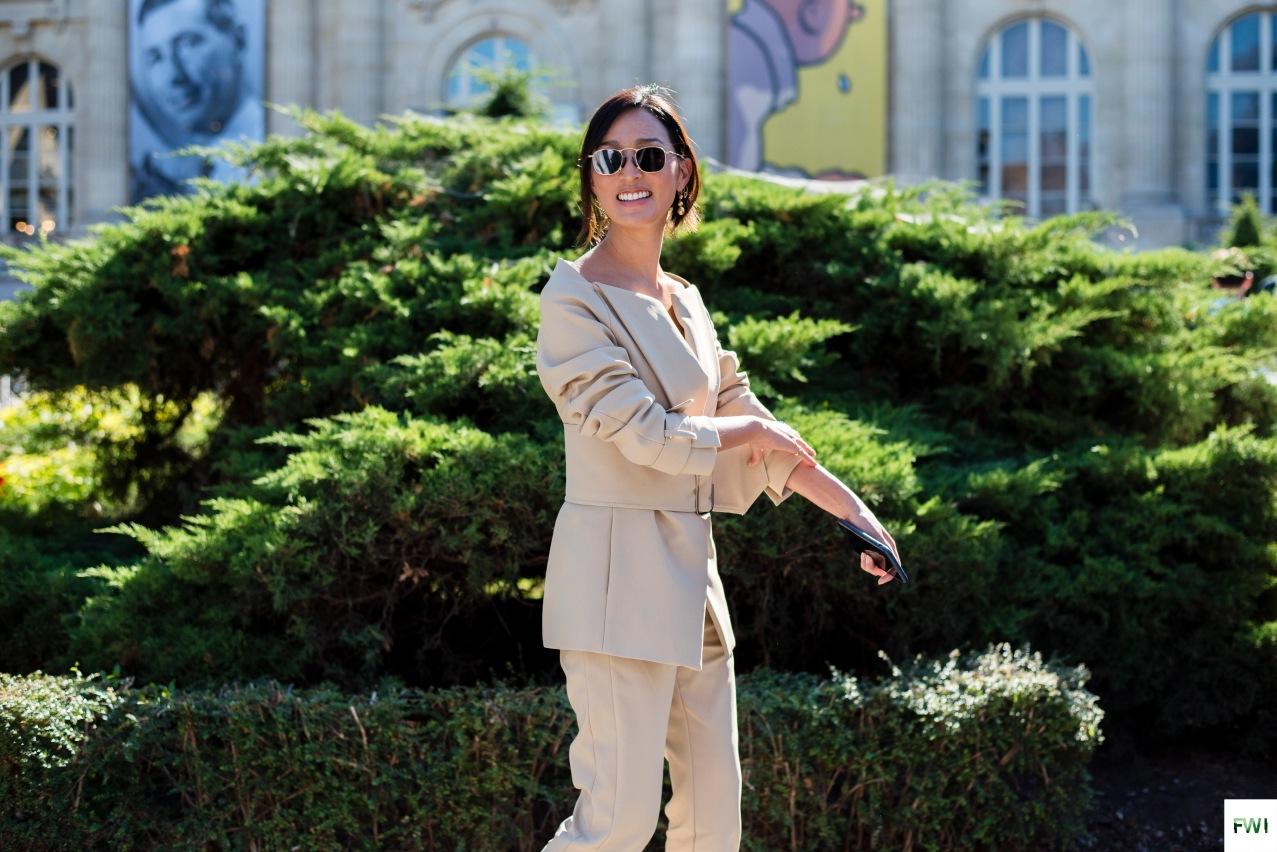 Chriselle Lim after Giambattista