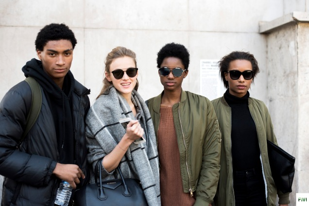Models off duty After Agnès B