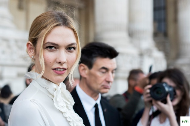 Karly Kloss after Shiatzy Chen