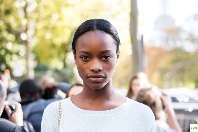 Mayowa Nicholas after Miu Miu