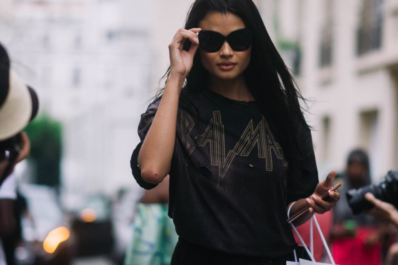 Daniela Braga after Balmain
