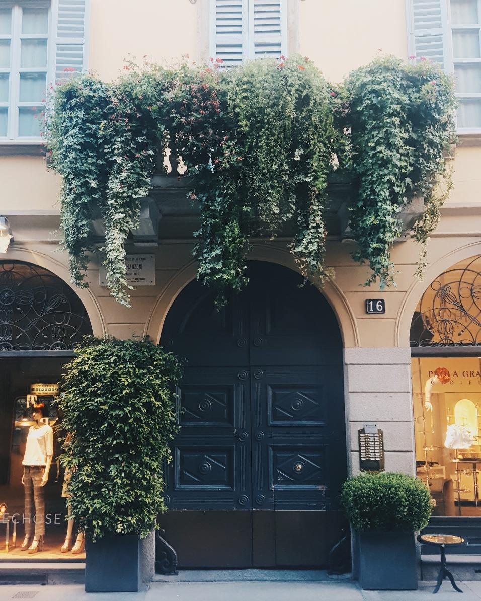 Via Brera, Milan