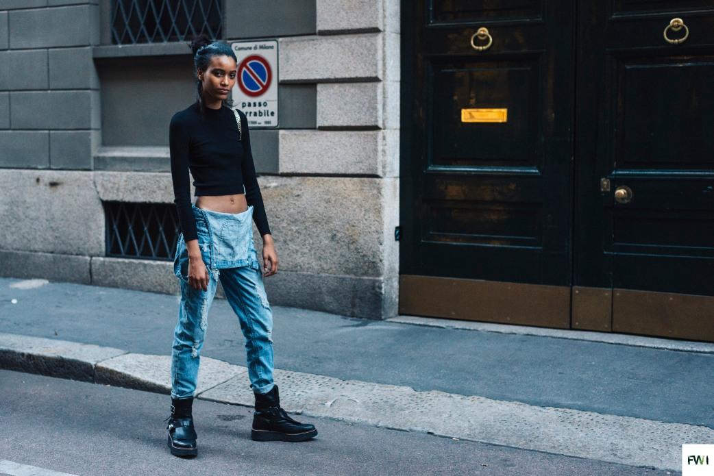 Manuela Sanchez after Versace